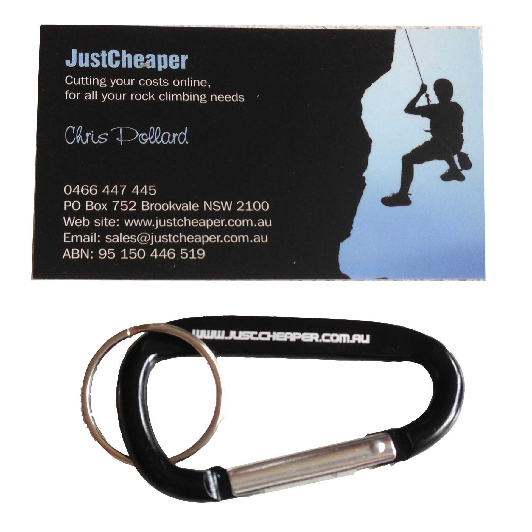 Justcheaper Carabiner Keyring 60mm
