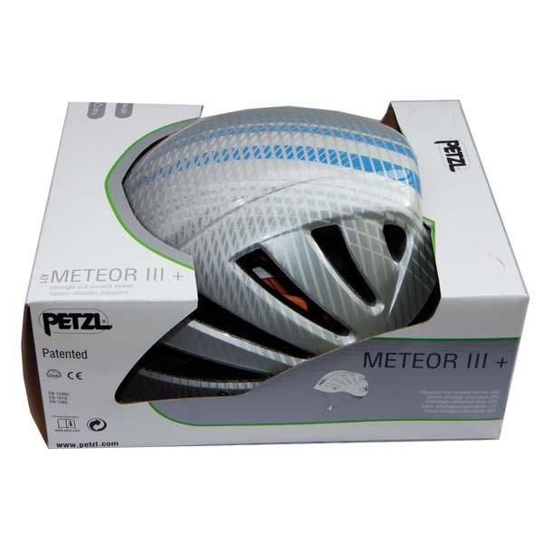 Petzl Meteor iii + Helmet -Grey - Blue