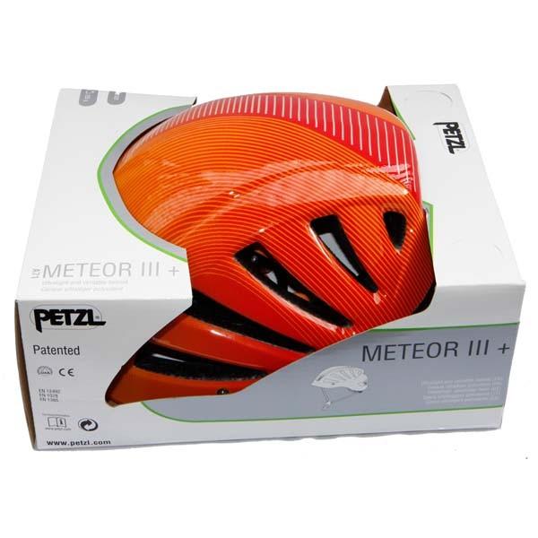 Petzl Meteor iii + Helmet-Red - Orange
