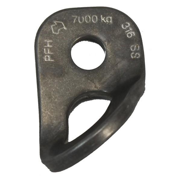 PFH Mega Hanger - Fixed Bolt Plate 12mm Hole -90 deg